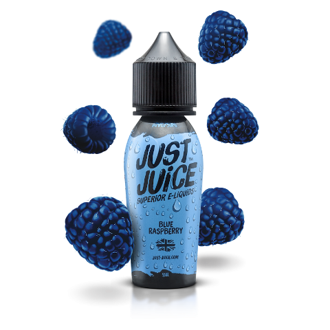 Blue Raspberry Shortfill eLiquid from Just Juice