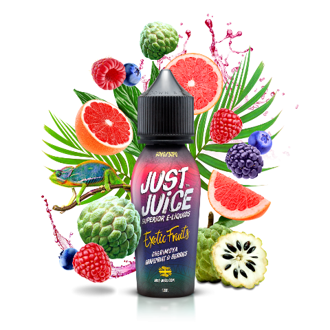 Cherimoya Grapefruit & Berries Shortfill eLiquid by Just Juice