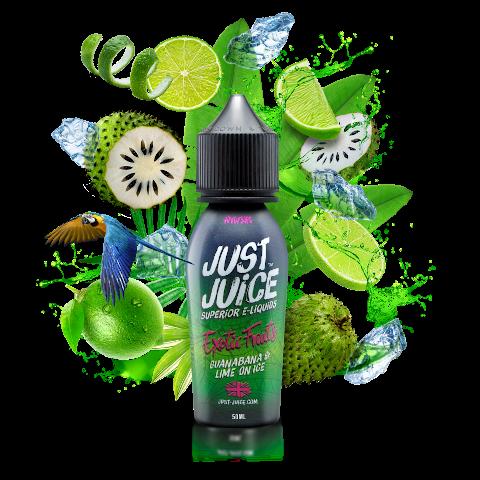 Guanalime Shortfill eLiquid by Just Juice