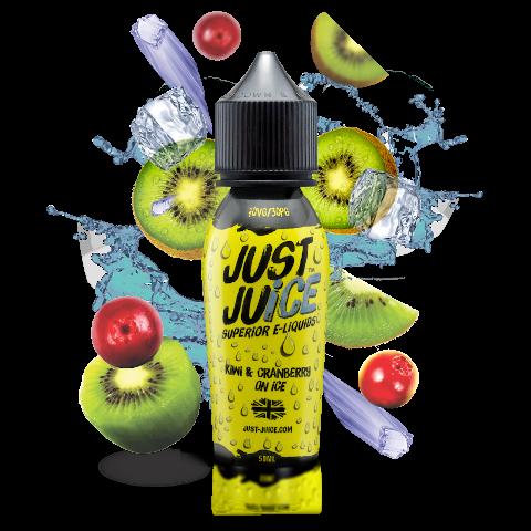 Kiwi & Cranberry on Ice Shortfill eLiquid from Just Juice
