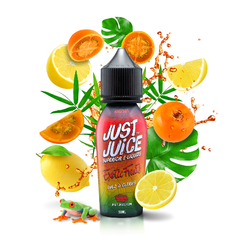 Lulo & Citrus Shortfill eLiquid by Just Juice